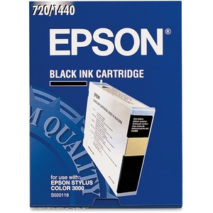 Epson Black Ink Cartridge - Inkjet - 3800 Page - Black - 1