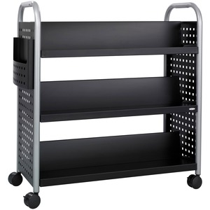 Scoot Double Sided Book Cart