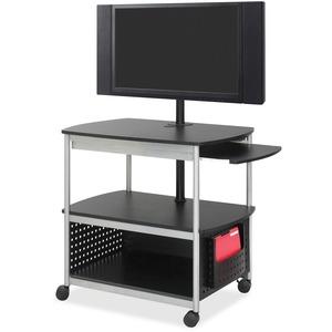 Scoot Open Flat Panel Multimedia Display Cart