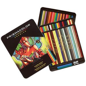 Sanford Prisma Thick Core Colored Pencil - Assorted Ink - 72 / Set