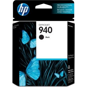 HP No. 940 Black Ink Cartridge - Inkjet - 1000 Page - Black