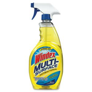 Windex Multisurface Cleaner - Spray - 32fl oz - Gold