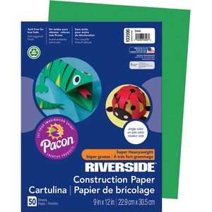 Riverside Groundwood Construction Paper PAC103596