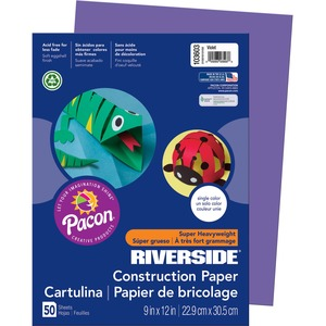 Riverside Groundwood Construction Paper PAC103603