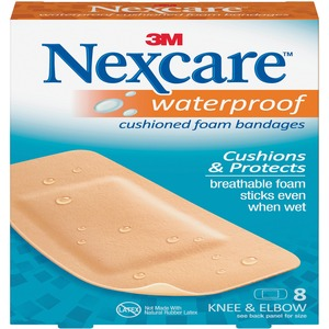Nexcaretrade; Activetrade; Waterproof Bandages Kne