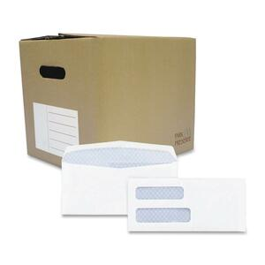Quality Park Double Window Tinted Envelope QUA24532B