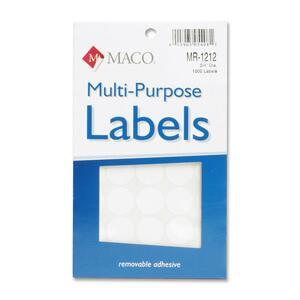 Maco Color Coding Labels MACMR1212