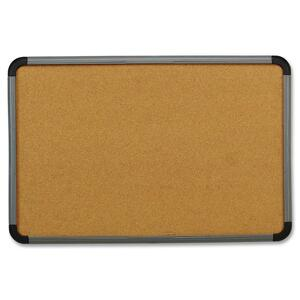 Iceberg Contemporary Lightweight Cork Board ICE35037
