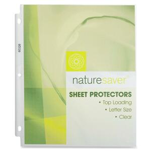 Nature Saver Environment Friendly Sheet Protector NAT60326