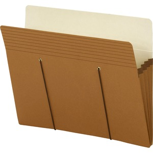 Smead Secure Pocket File Pocket - 3.5&quot; Expansion - 8.5&quot; x 11&quot; - Letter - 25 / Pack