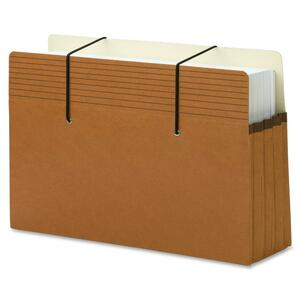 Smead Secure Pocket File Pocket - 3.5&quot; Expansion - 8.5&quot; x 14&quot; - Legal - 25 / Pack
