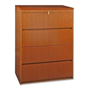 Lorell Four Drawer Lateral File LLR88017