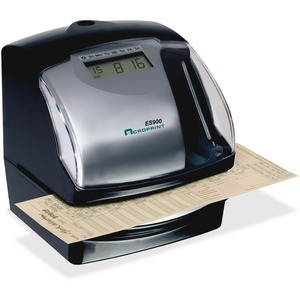 Acroprint ES900 Time Clock & Recorder - Card Punch/Stamp