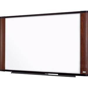 3M Wide Screen Style Melamine Dry Erase Board MMMM7248MY