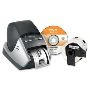 Brother QL-570VM Thermal Label Printer - Monochrome - 68 lpm Mono - 300 x 600 dpi - USB