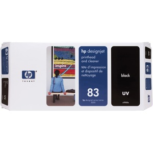 HP Black Printhead/Cleaner Cartridge - Inkjet - 1000 Page - Black - 1