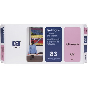HP Light Magenta Printhead/Cleaner - Inkjet - 1000 Page - Light Magenta - 1