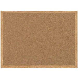 Bi-silque S.a Mastervision Recycled Cork Bulletin Boards - 48 Height X 72 Width - Cork Surface - Self-healing - Wood Frame - 1 Each