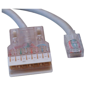 25FT CAT5E STRANDED RJ45 TO 110 RJ45M/110M PATCH CORD