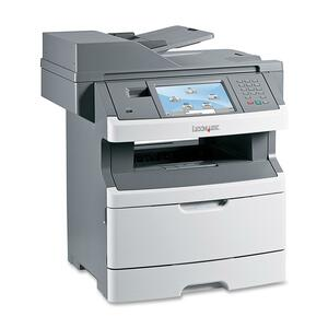 Lexmark X464DE Laser Multifunction Printer - Monochrome - Plain Paper Print - Desktop LEX13C1101