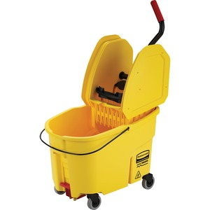Rubbermaid WaveBrake Down Press Combo Mop Bucket RCP757688YW