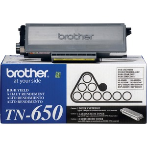 Brother High Yield Black Toner Cartridge BRTTN650
