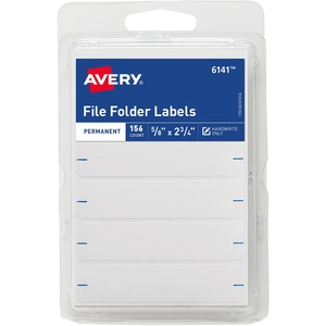 156/Pack File Folder Label