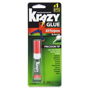 Krazy Glue Original Formula Glue Gel - 0.07oz - 1 / Pack - Clear