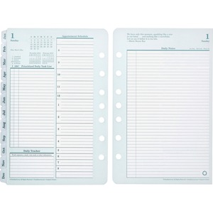 Franklin Covey Monarch Planner Refill FDP35427