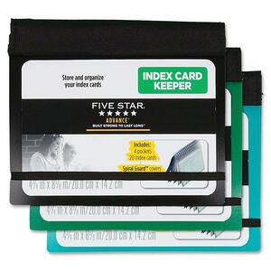Five Star Advance Index Card Keeper MEA50644