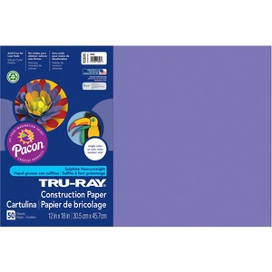 "Tru-Ray Construction Paper - 12"" x 18"" - Violet"