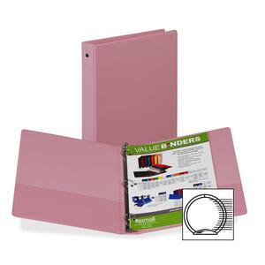 Samsill Flexible Hinge 3-Ring Value Storage Binder SAM11393