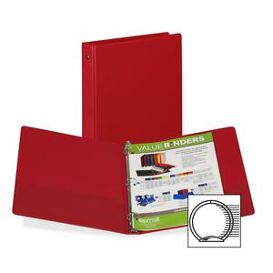 Samsill 3-Ring Vinyl Value Storage Binder SAM11315