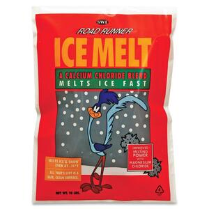 Scotwood Road Runner Ice Melt - Calcium Chloride, Magnesium Chloride - 15°F (15°C) - 10lb