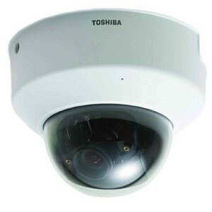 Toshiba IK-WD01A Mini Dome IP Network Camera - White