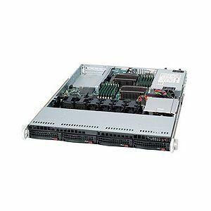Supermicro SuperServer 6016T-NTF Black (Barebone) - 1U - 2xLGA1366 - 12xDDR3 ECC DIMMS - 4xHOT SWAP SATA - 2xGIGABIT -  520W PSU (SYS-6016T-NTF )