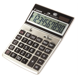 CANON HS-1000TG 10-DIGIT DESKTOP CALCULATOR W/ TAX FUNCTION