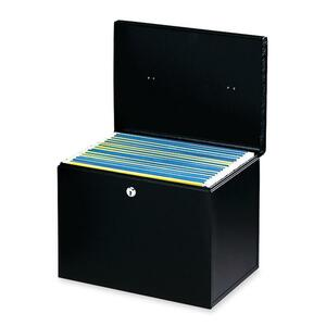 Buddy 0604 Hanging File Box with Two Keys BDY06044