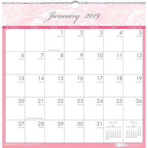 House of Doolittle Breast Cancer Awareness Wall Calendar HOD3671
