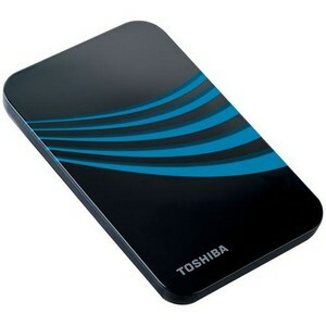 Toshiba 500GB Portable External Hard Drive USB 2.0 Liquid Blue