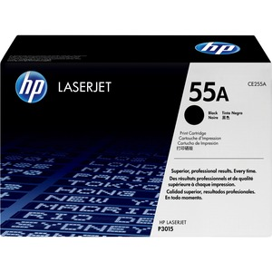 HP 55A Black Original LaserJet Toner Cartridge HEWCE255A