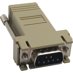 STRAIGHT THROUGH ADAPTER RJ45-F/DB9-M FOR CONSOLE SERVERS
