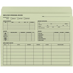 Smead Employee Record File Folder 77000 SMD77000