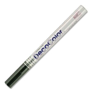 Marvy DecoColor Paint Marker - Black Ink - 1 Dozen