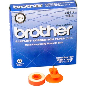 Brother 3015 LIFT-OFF Correction Tape BRT3015