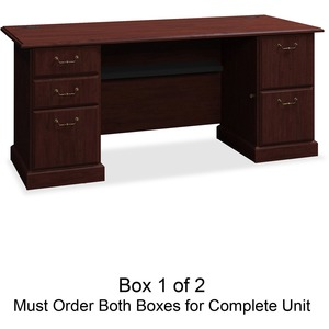 bbf Syndicate 6372CSA1-03 Pedestal Desk Box 1 of 2 BSH6372CSA103