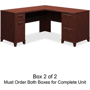 bbf Enterprise 2930CSA2-03 L-Shaped Desk Box 2 of 2 BSH2930CSA203