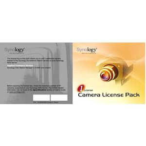 Synology IP Camera License Pack for 1