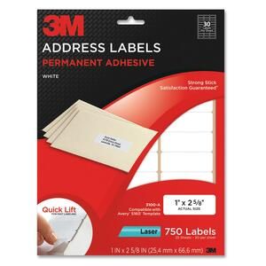 3M Address Label MMM3100A