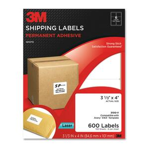 600/Pack Address Label